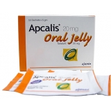 APCALIS ORAL JELLY(TADALAFIL 20MG)-FAST RESULTS-EFFECTIVE IMPOTENCE  DRUG-AJANTA PHARMA LIMITED-WHO/GMP CERTIFIED