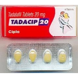 TADACIP 20mg-PREMIUM TADALAFIL FROM CIPLA LIMITED-INDIA'S 2ND LARGEST PHARMA